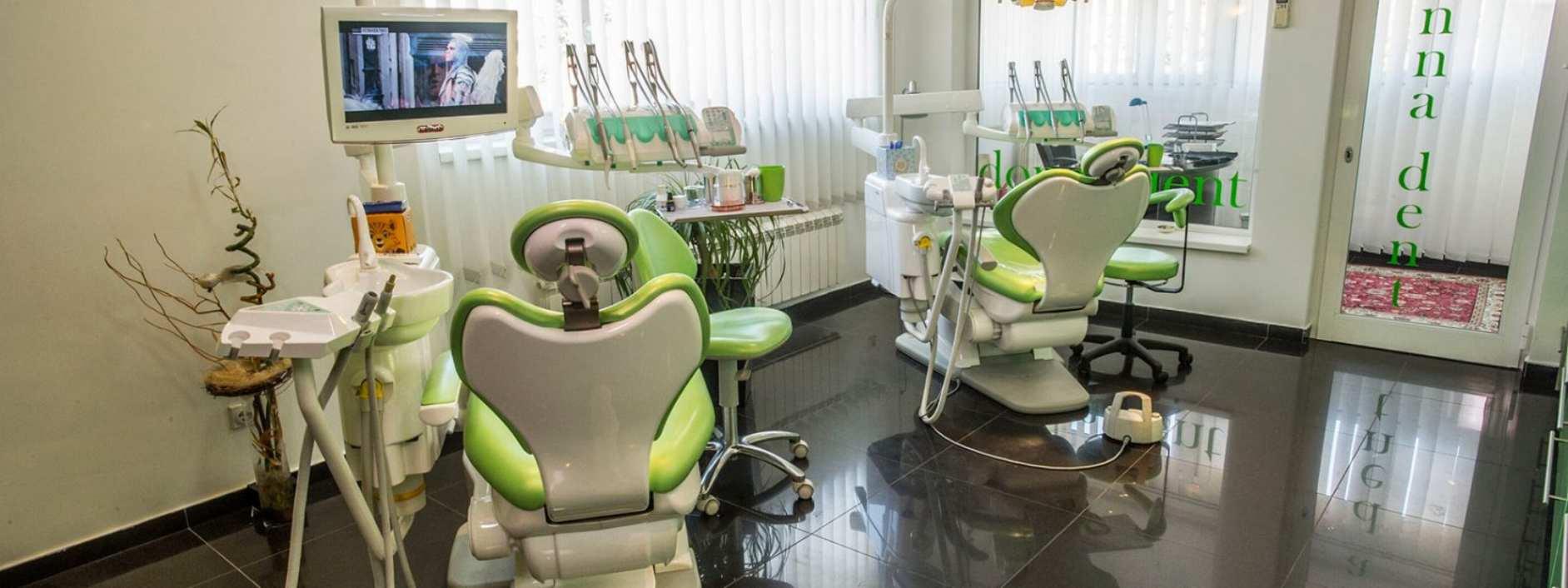 Ordinacija Donna Dent - stolice za pacijente i oprema